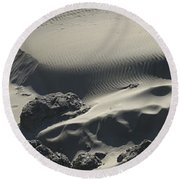 Coastal Dunes Sand Box - Southern Oregon Round Beach Towel