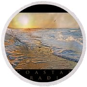Coastal Paradise Round Beach Towel