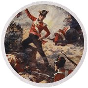 Colin Campbell Leading The Forlorn Hope Round Beach Towel