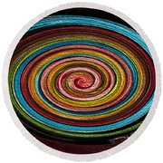 Color Palette Round Beach Towel