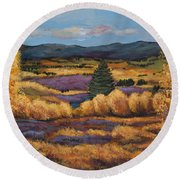 Colorado Round Beach Towel