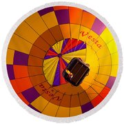 Colorful Underbelly Round Beach Towel
