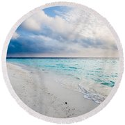 Colors Of Paradise Round Beach Towel