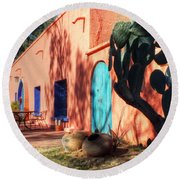 Colors Of The Desert Southwest Round Beach Towel