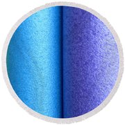 Colorscape Tubes C Round Beach Towel