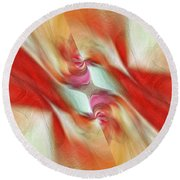 Comfort Round Beach Towel by Margie Chapman