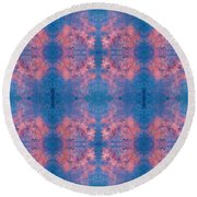 Round Beach Towel featuring the photograph Controlled Chaos by Stephanie Grant