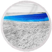 Coorong Sandy Bay Round Beach Towel