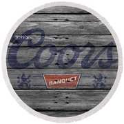 Coors Round Beach Towel
