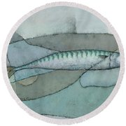 Cornish Mackerel Round Beach Towel