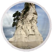 Coromandel Rock Round Beach Towel