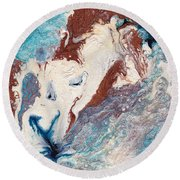 Cosmic Blend Four Round Beach Towel