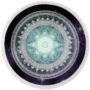 Cosmic Medallions Water Round Beach Towel