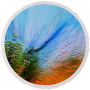 Cosmic Series 006 - Under The Sea Round Beach Towel