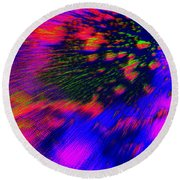 Cosmic Series 010 Round Beach Towel