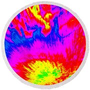 Cosmic Series 023 Round Beach Towel