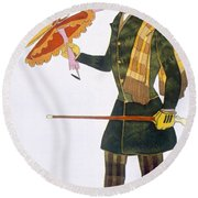 Costume For The Englishman, From La Round Beach Towel