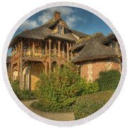Cottage Versailles Round Beach Towel