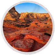 Coyote Buttes Round Beach Towel