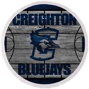 Creighton Bluejays Round Beach Towel