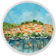 Croatia - Split Round Beach Towel