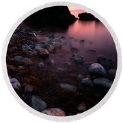 Cromarty Sunrise Round Beach Towel