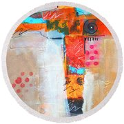 Cruciform 3 Round Beach Towel