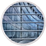 Greytones Round Beach Towel
