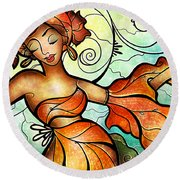 Cubana Round Beach Towel