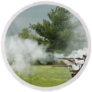 Culloden Jacobites Round Beach Towel
