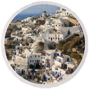 Cyclades Grk4309 Round Beach Towel