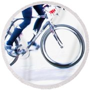 Cycling Round Beach Towel