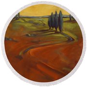 Cypress Hills 3 Round Beach Towel