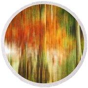Cypress Pond Round Beach Towel