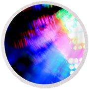 Dancing Queen Round Beach Towel