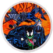 Darkhawk Issue 13 Homage Round Beach Towel