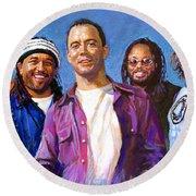 Dave Matthews Band Round Beach Towel