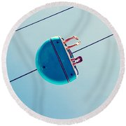 Days Like This - Santa Cruz Round Beach Towel
