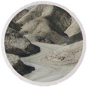 Death Valley Round Beach Towel