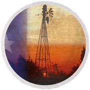 Deep In The Heart 2 Round Beach Towel by Stephen Anderson