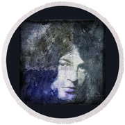 Deep Purple - Smoke On The Water Round Beach Towel