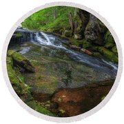 Deer Creek Round Beach Towel