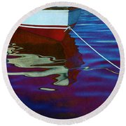 Delphin Round Beach Towel