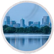 Denver Colorado Round Beach Towel