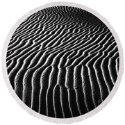 Desert Sands Round Beach Towel