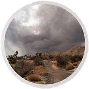 Desert Storm Come'n Round Beach Towel