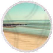 Desire - Light Round Beach Towel