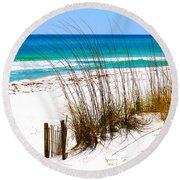 Destin, Florida Round Beach Towel