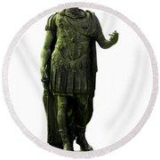 Dictator Julius Caesar Round Beach Towel