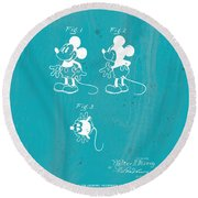 Disney Mickey Mouse Round Beach Towel